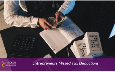 Overlooked Tax Deductions Entrepreneurs