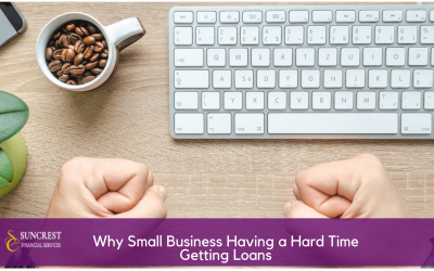 3 Reasons Why Small Business Owners Have a Hard Time Getting Business Loans!