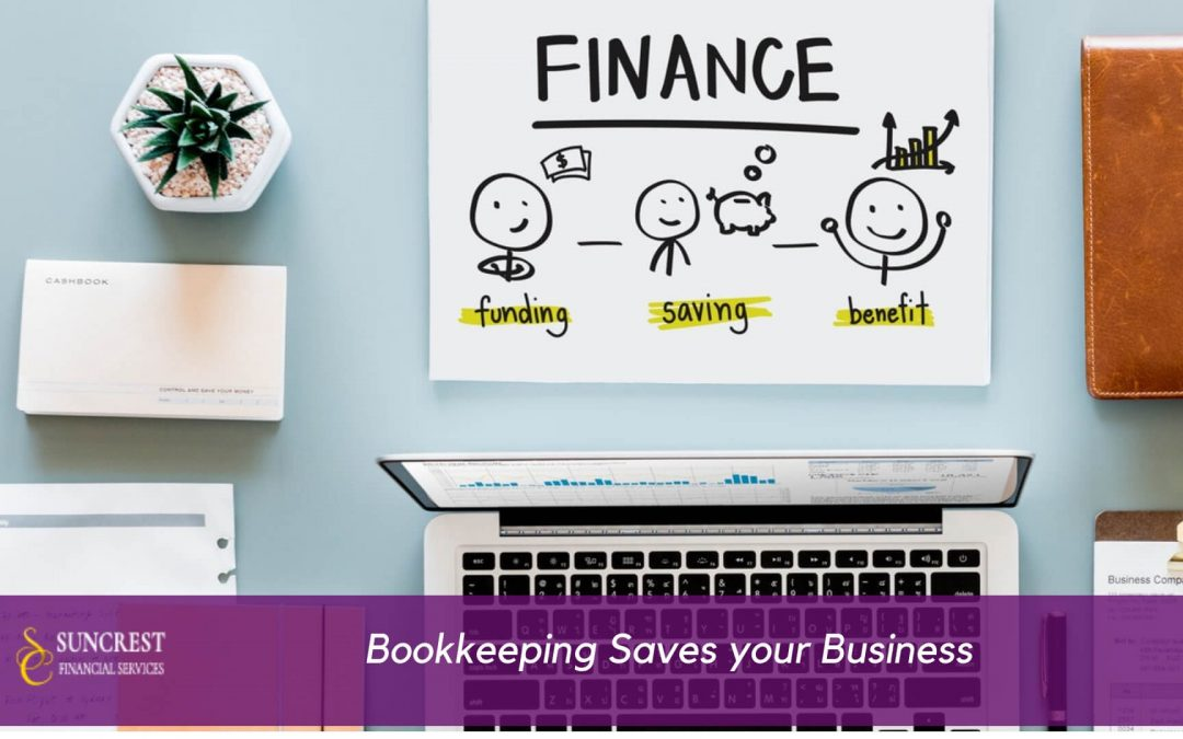 Bookkeeping saves your Business