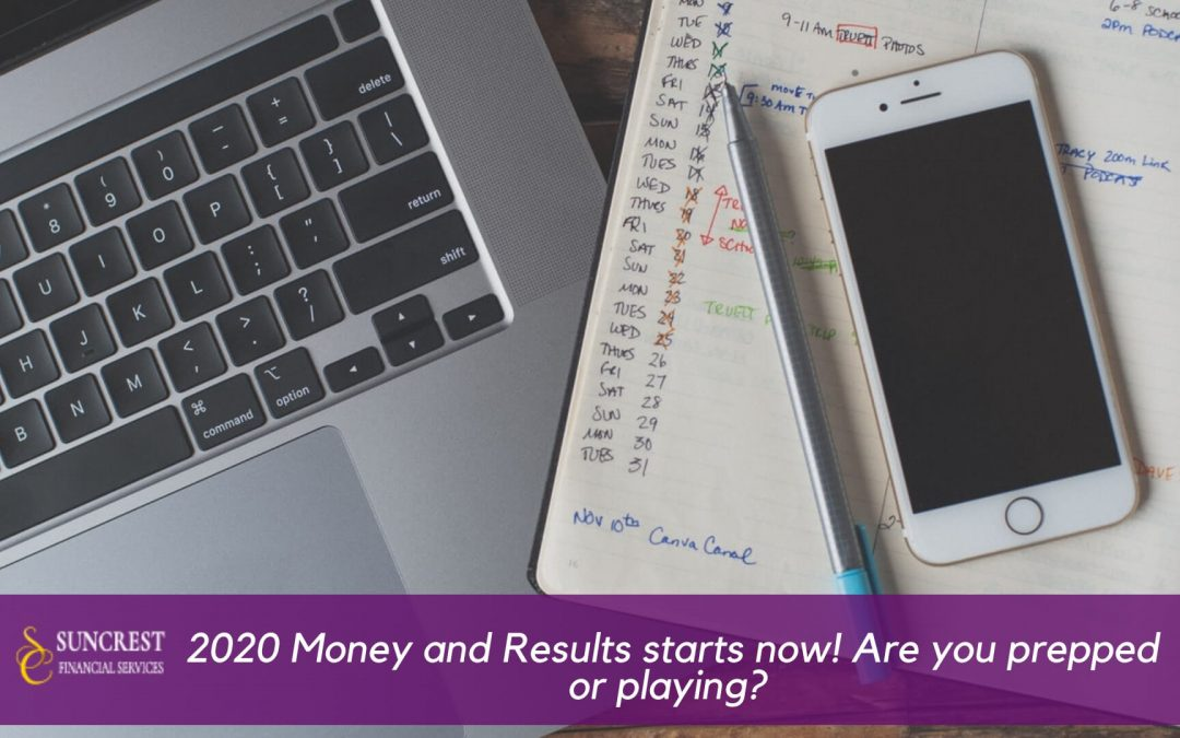14 days left in 2019. 2020 Money and Results starts now! Are you prepped or playing?