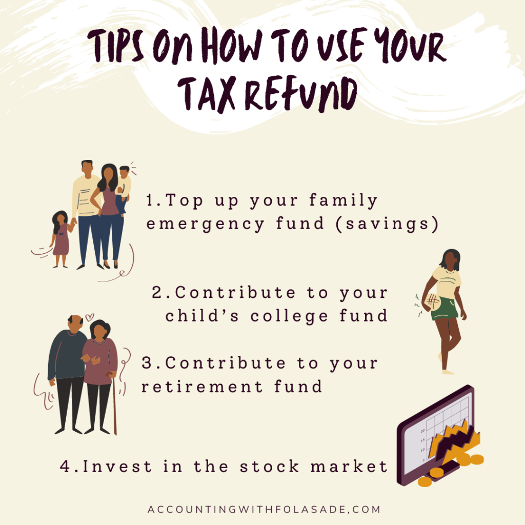 Tips on how to use your tax refund