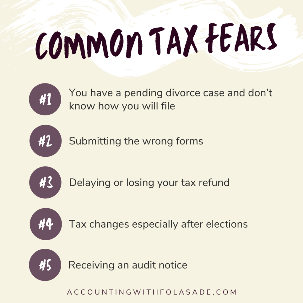 common tax fears